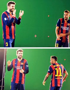 Neymar & Gerard Pique - making of the Beko commercial