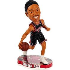c9b7e8e8696f Derrick Rose Chicago Bulls Black Uniform FOCO 2012 Bobblehead