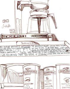 American Coffee Shops on the RISD Portfolios