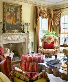 Living Room Decor Country, French Country Living Room, French Country Cottage, French Country Style, English Style, Country Bedrooms, French Decor, French Country Decorating, Home Interior