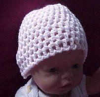 BABY BEANIE Crochet Pattern - Free Crochet Pattern Courtesy of Crochetnmore.com