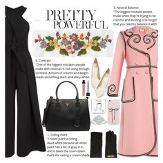 """""""Untitled #2781"""" by anarita11 ❤ liked on Polyvore featuring Temperley London, Gucci, Prada, Moschino, Happy Plugs and Francesco Russo"""
