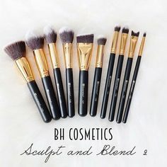 656978775173b BH COSMETICS SCULPT AND BLEND 2 – 10 PIECE BRUSH SET via  tudi house Cute  Makeup