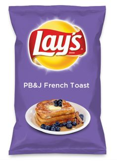 Wouldn't PB&J French Toast be yummy as a chip? Lay's Do Us A Flavor is back, and the search is on for the yummiest flavor idea. Create a flavor, choose a chip and you could win $1 million! https://www.dousaflavor.com See Rules.