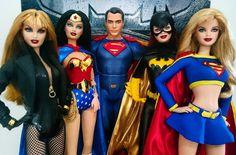 The Women of DC Comics turn to welcome Superman #DCcomics #Barbie #BarbieStyle #BlackCanary #WonderWoman #Superman #Batgirl #Supergirl #dolls #BatmanvSuperman #toys #Mattel #awesome #love #geek #gamer #Pinoy #Philippines #photography #dollphotogallery by wonderlyte
