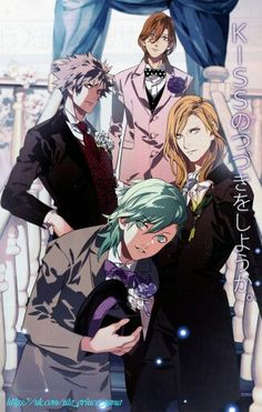 ©Uta no prince-sama: Maji Love 1000%                                         ®Uta no prince-sama: Maji Love 2000%                                           •Uta no prince-sama: Maji Love Revolutions(3000%).                      °QUARTET NIGHT°