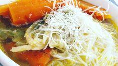 Videorecept: Vývar z domácej sliepky Spaghetti, Ethnic Recipes, Food, Essen, Meals, Yemek, Noodle, Eten