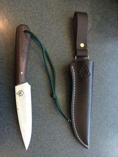 Building A Micro-Homestead - noonski1: My PKS Bushcraft Basic knife with dangle...