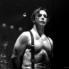 Till Lindemann. God he is beautiful ....