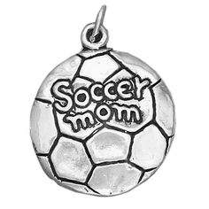 Sports Mom Sterling Silver Pendant