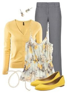 """""""Teacher, Teacher 143"""" by qtpiekelso ❤️ liked on Polyvore featuring moda, Monsoon, H&M, Madewell, Nine West e J.Crew"""