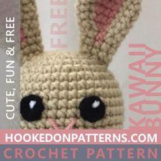 Free Crochet Bunny Pattern - Kawaii Bunnies