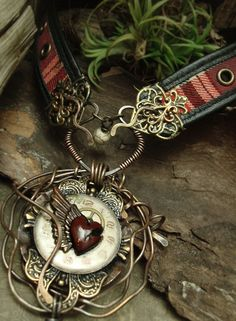 Altered Alchemy - Mixed Media Jewelry by Luthien Thye