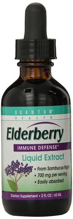 Quantum Elderberry  Liquid Extract , 2 Fl Ozs.