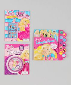 Take a look at this Barbie™ Book Set by Barbie on #zulily today!