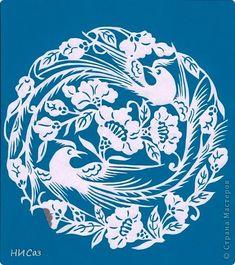 Картина, панно Вырезание: Птичьи разговоры Бумага. Фото 1