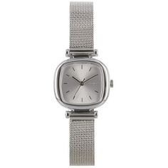 Buy Komono Women's Moneypenny Royale Stainless Steel Bracelet Strap Watch, Silver from our Women's Watches range at John Lewis & Partners. Mesh Bracelet, Metal Bracelets, Stainless Steel Watch, Stainless Steel Bracelet, Mirror Jewelry Armoire, Gold Watches Women, Ladies Watches, Fashion Bracelets, Jewelry Watches