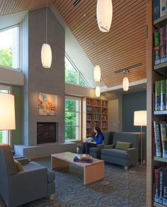 Westwood Public Library - Finegold Alexander Architects