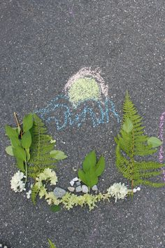 Sidewalk chalk activities are warm weather favorite in our home. Here are a few fun ideas for sidewalk chalk games and play for the kids.