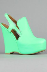 fluro jeffery campbells. watching.
