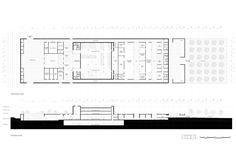Campo Baeza . Gabrion . nuevo edificio para el Museo del Louvre . Lievin (15)