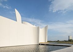 Toyo Ito uses fluted concrete walls to define Baroque museum