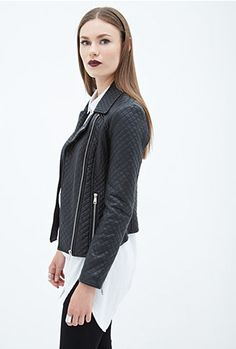 this weekend i came across this moto jacket on forever21.com. only $42.80 and free shipping this weekend. i just added it to my cart...