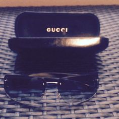 Gucci Sunglasses=FINAL PRICE Gucci Sunglasses with case.  Case has some outside wear on it but glasses in great condition Gucci Accessories Sunglasses