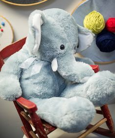 Inspired by This Colorful Yarn + Elephant Themed Baby Shower | Inspired by This Blog