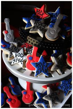 Rock star cookies