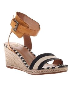 060fddb8c83b Another great find on  zulily! MADELiNE Black Skate Wedge Sandal by  MADELiNE  zulilyfinds