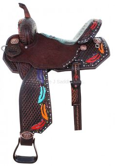 Pozzi Pro Barrel Racer - SBP653 Double Jay Saddlery