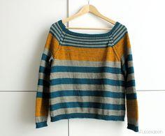 FO : Stripe Parade – Pullover