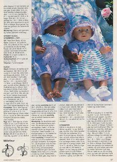View album on Yandex. Knitting Dolls Clothes, Crochet Doll Clothes, Sewing Dolls, Knitted Dolls, Doll Clothes Patterns, Doll Patterns, Baby Knitting Patterns, Girl Dolls, Baby Dolls