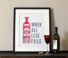 When all else... Print for Love of Wood £24 Twitter @print_for_love