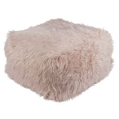 Price value Wenham Pouf Ottoman Willa Arlo Interiors Teen Bathroom, Innovation, Georgia, Square Pouf, Pink Faux Fur, Pouf Ottoman, Ottoman Decor, Diy Chair, Floor Cushions