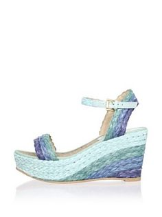 RAS Women's Multicolor Single Band Espadrille
