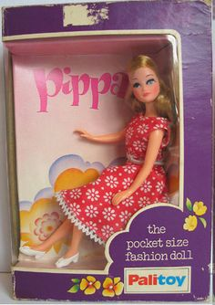 Palitoy Pippa doll third issue boxed