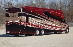 Designed for your life with Renegade RV's lineup of Renegade motorhomes, Renegade toterhomes and Renegade stacker trailers. Renegade also builds specialty vehicles. Bus Camper, Rv Bus, Campers, Luxury Motorhomes, Rv Motorhomes, Rv Truck, Big Rig Trucks, Super C Rv, Cool Rvs
