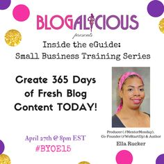 365 days of blog con