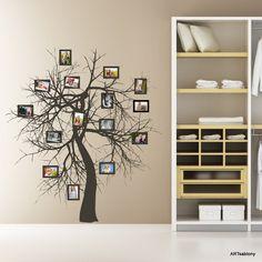 (3402n) Nálepka na stenu - Rozkonárený strom a galéria | ARTSABLONY.SK