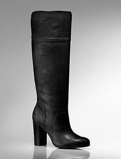 Talbots black boots.