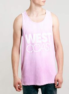 Literally just want this vest so I can walk around and sing Lana Del Rey all day long. PINK TO WHITE COLOUR CHANGING VEST