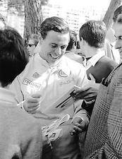 JIM CLARK LOTUS DRIVER PHOTOGRAPH FOTO MONACO GRAND PRIX 1967 GP F1 2