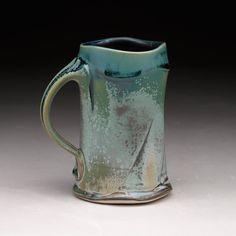 Wheel thrown mug by Steven Hill. Steven Hill, Old Pottery, Tea Bowls, Small Plates, Urn, Ceramic Art, Ceramics, Artists, Image