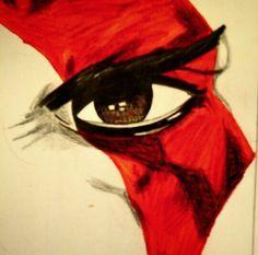 Kratos - lapiz sobre papel