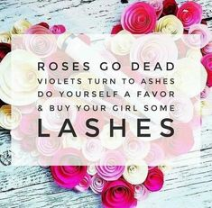 What are you getting her for Valentines Day? Make sure it's Lash Boost! shelbya62@yahoo.com