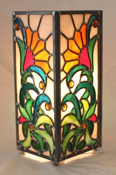 Stained glass lantern. One of my favorites.