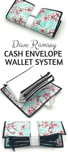 The DAVE RAMSEY cash envelope wallet system is such a great system to use to get out of debt and for frugal living!! Dave Ramsey is awesome!! #affiliatelink #daveramsey #frugal #debt #wallets
