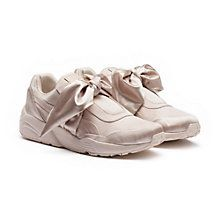 ba7672a7b1a076 Fenty X Puma bow sneakers ( 240) ❤ liked on Polyvore featuring ...